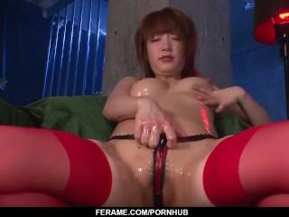 Sana Anzyu supreme POV cock sucking XXX porn