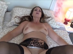 Son Home For The Holiday Gets Seduced By Step-Mom