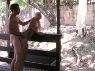 hate sex outside/ rough sex starring  astrid star and kash morgan