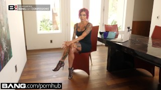 Bang Confessions: Anna Bell Peaks Fucks Fan With Panty Fetish  fuck a fan cum panties pornstar fucks fan big tits funny blowjob tattoo kink squirting orgasm doggystyle panty fetish national panty day fake tits wet panties bangconfessions