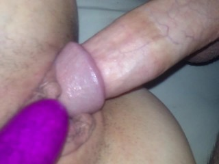 Close up of wife's pussy