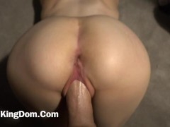 Tiny 18 Yr Old Teen First Anal With Daddy