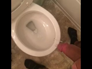 Cum and piss