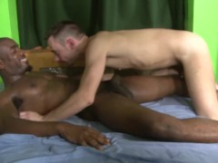 Black Thug Raw Interracial Barebacking