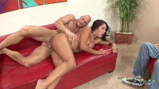 Hot Milf Francesca Le Fucked Hard in front of Husband!!  husband watches wife hard rough sex francesca le brazzers milf big cock cheating brazzers big dick milf hardcore kink brunette mature cougar mother muscle latin bubble butt johnny sins hardcore