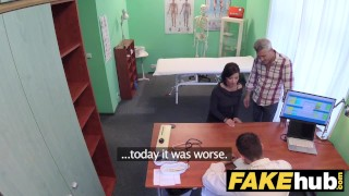 Fake Hospital Czech doctor cums over horny cheating wifes tight pussy  hot brunette horny milf vicky love blowjob doctor pov milf hardcore reality uniform hungarian milf cum shot hospital fakehospital clinic cheating wife