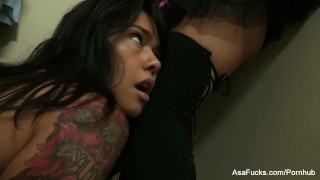 Dana brings Asa out for some fun with Toni  lingerie babe tease asian puba cumshot asaakira small tits skinny brunette asafucks anal ass fuck assfuck pornstar tattoo missionary hardcore japanese facial