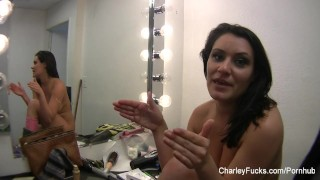 Preview 5 of Behind the scenes on set with Charley Chase