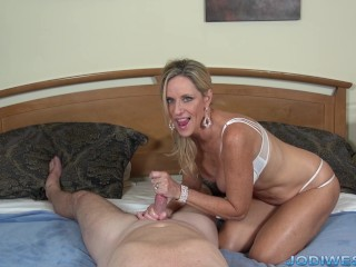 Jodi West Tease and Denial HandJob