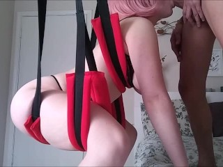 EMMARAE SEX SWING CREAM PIE COMPILATION YOUNG RED HEAD PAWG DADDYS GIRL CUM