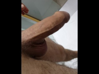 My dick got hard in the morning