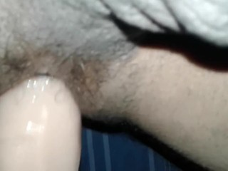 Filling up my ass