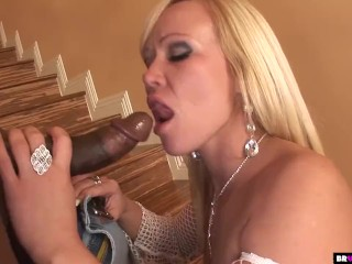 BrokenTeens - Super hot White girl vs black mamba