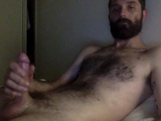 me, masturbating