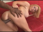 MILF With Huge Tits KRISSY LYNN Rides Monster Black Cock