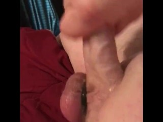 Alone time with my cock ring