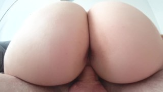 Sex with big young ass close-up