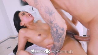 Exotic4k Thick booty Asian Ember Snow fucked by big white dick  ember snow teasing stripping hd asian blowjob cumshot big dick hardcore 4k petite 60fps sex facial exotic4k oiled thong
