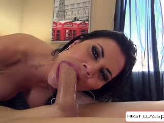 Sloppy, dirty, naughty, Jasmine knows how to make a man cum