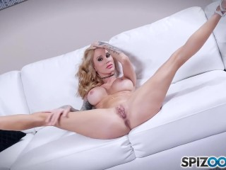 Watch Sarah Jessie with a big cock inside her