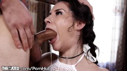 Throated Cassidy Klein is Back for More Gagging