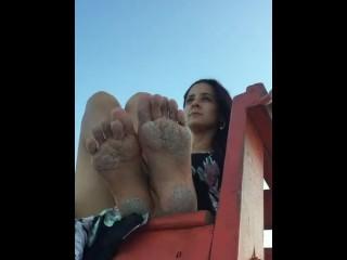 Beachy Foot Rub