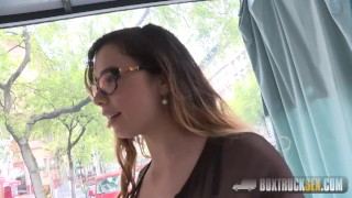 Amazing Mira Cuckold Agrees to her First Public Porn Shoot  babes public boxtrucksex outside massage gone wild outdoor street pickup hot pornstar