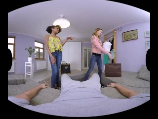 The one and only Belle Claire in unique VR videos