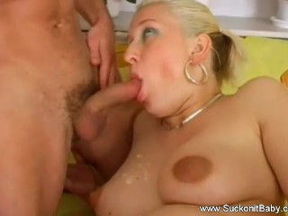 Pregnant Blowjob From European MILF From Ceech Republic