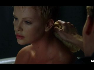 Charlize Theron nude in The Astronauts Wife