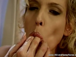 Lovely Charlee Solo Masturbation At Home Alone