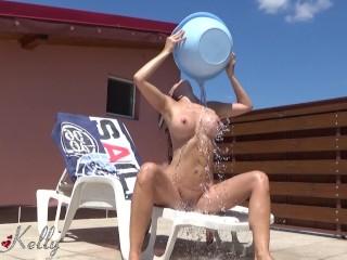 hot neighbor tanning