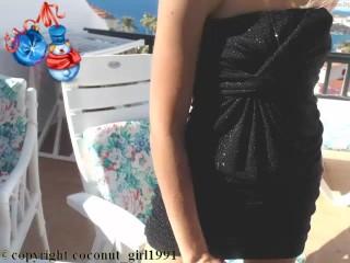 Blonde black dress coconut_girl1991_081216 chaturbate LIVE SHOW REC