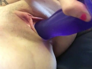 A preview of me fucking myself with a dildo
