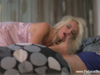 Morning Glory Blowjob Is The Best Way To Wake Up