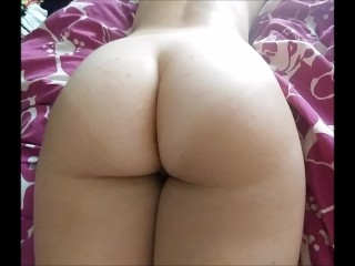 Big Booty Amateur Twerks, gets Creampied, and Squirts