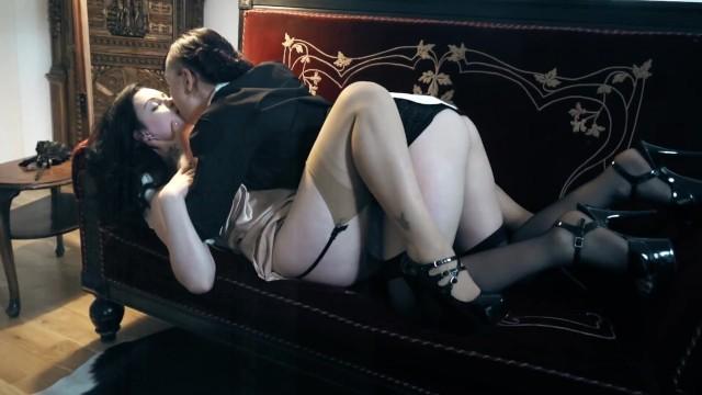 Lesbian whip bondage tube
