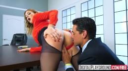 DigitalPlayground - The Panty Hoes Giselle Palmer Ryan Driller