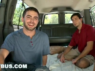 BAITBUS - Str8 Bait Mama's Boy Josh Longxxx Turned Out by Chris Alexander