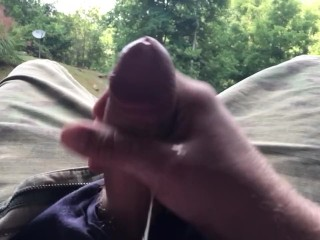 OUTSIDE CUMMING NONSTOP SLOW MOTION!!!