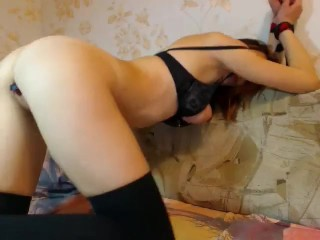 MoonChristine ohmibod in pussy