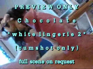 PREVIEW ONLY: Chocolate Mocha in white lingerie (2)
