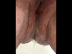 BBW Pissing In The Shower