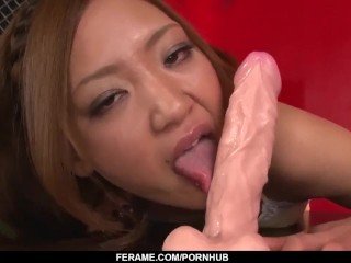 Superb Asian POV sex with lovely model Mio Kuraki