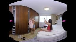 18VR Anal Threesome With Eveline Dellai And Silvia Dellai VR Porn