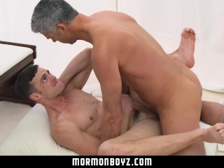 MormonBoyz-Clean-cut Mormon boy barebacked in church