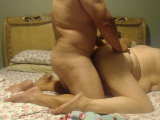 Wife and Husband fun in the bed !
