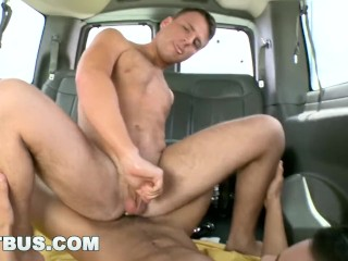 BAIT BUS - Straight Bait Ethan Slade Slides His Dick Into Logan Ryder