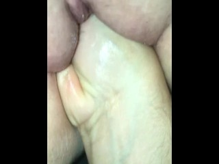 Clip of me fisting my wife at night