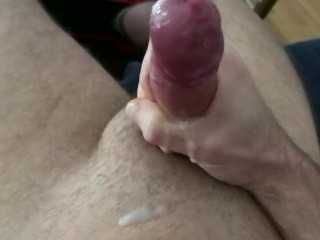 Jerking off and cumming
